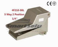"""119.69$  Buy here - http://alikq8.shopchina.info/go.php?t=32523599269 - """"5pcs/lot Fedex Free Shipping Pneumatic 1/4"""""""" 1/4 inch 5 Port 2 Position Air Foot Valve Manual Pedal Valves With Lock 4F210-08L"""" 119.69$ #buymethat"""