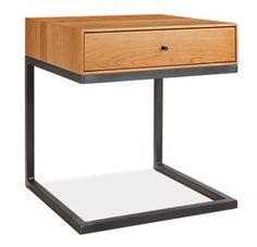 Hudson C-Table/Nightstand - Nightstands - Bedroom - Room & Board