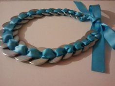 Ribbon Washer Necklace by AlteredAccessories on Etsy, $10.00