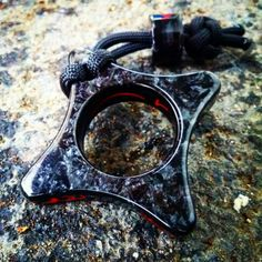 Star Knuck Black Ice outside Lava Inside. Really liking the Black Ice. Find it at www.KobraKydexGear.com#kobrakydexgear #knuck #edc #kirinite #star