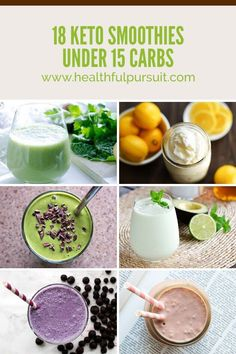 Smoothie Recipes 18 Dairy-Free Keto Smoothies under 15 Carbs Keto Shakes, Keto Breakfast Smoothie, Low Carb Breakfast, Breakfast Recipes, Breakfast Ideas, Vegan Keto, Paleo, Low Carb Smoothies, Smoothie Recipes