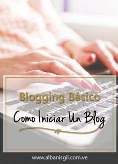 Iniciar Un Blog - Nivel Básico - BLOG - Albanis Gil