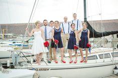 Nautical Wedding Inspiration    www.pinkpaisleyevents.com