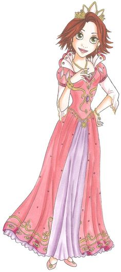 Disney Glamour 2010 Rapunzel by =Sil-Coke on deviantART