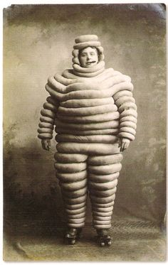 The Michelin Man   c.1910