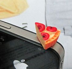 Cute Kawaii Simulated Hamburger/cups/cake/chips Phone Dust Plug Cell Phone Accessories For Phone 3.5mm Earphone Jack Plug