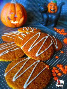 Biscotti alla zucca e sciroppo d'acero - Pumpkin and maple syrup cookies