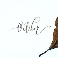 Hello October!   #artsycanvasgirl