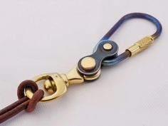 Keyring Brass-Mix-1 by EdcApparatus on Etsy
