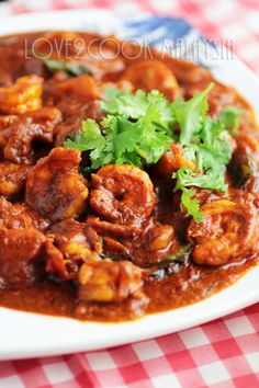 """Prawn Masala Curry -> Anything """"masala"""" is worth writing home about so..."""