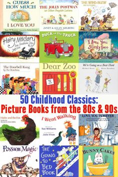 50 fabulous picture books that will never grow old!