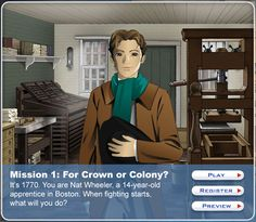 Mission US - Interactive Site for the American Revolution. Are you a Loyalist or Patriot?