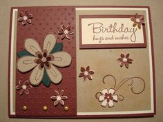 Friendship Blooms - Kraft by 2fogles - Cards and Paper Crafts at Splitcoaststampers