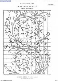 Embroidery Cloth an Free Machine Embroidery Patterns Flowers via Hand Embroidery Patterns Religious another Embroidery Hoop Metal neither Embroidery Stitches Names List Bordados Tambour, Tambour Embroidery, Vintage Embroidery, Cross Stitch Embroidery, Ribbon Embroidery, Modern Embroidery, Mexican Embroidery, Embroidery Letters, Embroidery Transfers