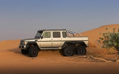 Monster Machine: More Mercedes-Benz G63 AMG 6x6 Photos, Specs - WOT on Motor Trend