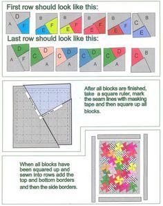 Make a Little Twister quilt block ruler | Quilts | Pinterest ... : twister quilt patterns - Adamdwight.com
