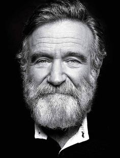 Robin Williams Portrait by Peter Hapak for TIME