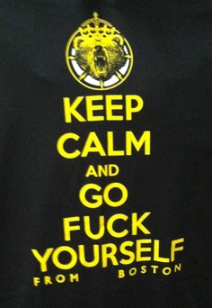 Keep calm...#bruins #boston #hockey #nhl