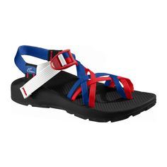 custom chacos! make your own. I love the red white and blue