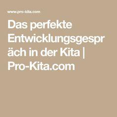 Das perfekte Entwicklungsgespräch in der Kita   Pro-Kita.com