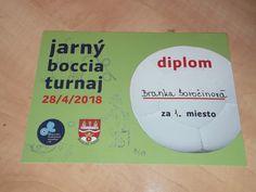 Ligový boccia turnaj 2018
