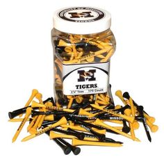 Missouri Tigers Official NCAA 234 inch Golf Tees by Team Golf >>> You can get more details by clicking on the image.