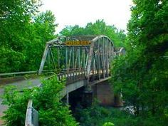 This old steel truss bridge across the Big Piney River at Devil's Elbow, MO. dates back to the very early days of Route 66. Shame, they are building a new one now & this one will be gone. (2014)