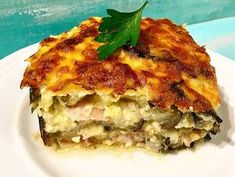Lasagna, Vegetables, Ethnic Recipes, Food, Essen, Vegetable Recipes, Meals, Yemek, Lasagne