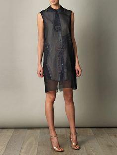 Piece bills overlay dress - Acne