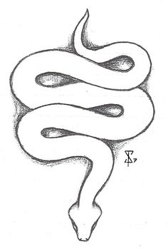 snake tattoo drawing sketch outline drawings snakes simple tattoos cobra google deviantart coloring sketches outlines reptiles serpent paintingvalley easy designs