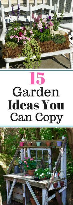 15 Garden Ideas You Can Copy - from a Garden Tour