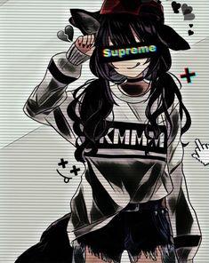 Dark Anime Girl, Cool Anime Girl, Cute Anime Pics, Sad Anime, Kawaii Anime Girl, Anime Devil, Anime Angel, Cool Anime Wallpapers, Cute Anime Wallpaper