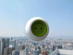 """""""Window Socket"""", tomada que funciona com energia solar"""