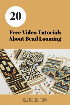 You can learn to bead loom, it's easy! Learn about looms, beads, thread, and get free patterns.