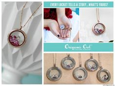 Wedding and bridal party ideas; why not hold a special bridal party jewelry bar and let your attendants make their own lockets?
