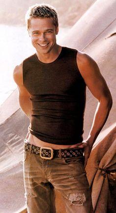 Brad Pitt, whose voice is still answering phones of grateful friends in West Hollywood. A good man and father. Brad Pitt And Angelina Jolie, Jolie Pitt, Junger Brad Pitt, Brat Pitt, Oklahoma, Hot Men, Sexy Men, Gorgeous Men, Beautiful People