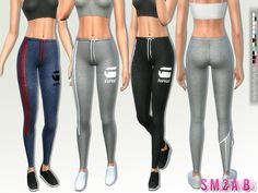 .:188 - Athletic pants:. Found in TSR Category 'Sims 4 Female Everyday'