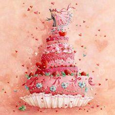 wedding cake strawberries