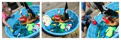 Momma's Fun World....pirate pool sensory