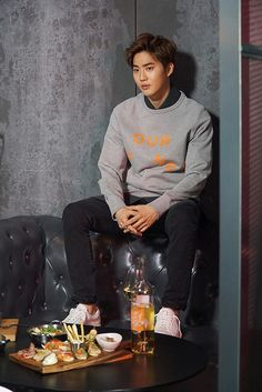 EXO Suho - The Celebrity Magazine April Issue '16