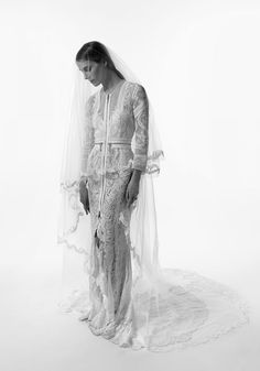 Vanessa Traina in her Givenchy Haute Couture wedding gown, by husband Max Snow Givenchy Wedding Dress, Bridal Dresses, Wedding Gowns, The Lady Of Shalott, Stone Fox Bride, Bridal Style, Wedding Styles, Marie, Wedding Inspiration
