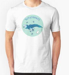 Cute Yutyrannus T-shirt #dinosaurs #Jurassic #feathers #yutyrannus #blue