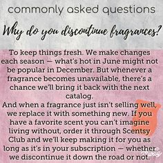 Why does Scentsy Discontinue fragrances? Next Catalogue, Scentsy Uk, Scented Wax Warmer, Natural Oils, Fragrances, Mixers, Jessie, Addiction, Hacks