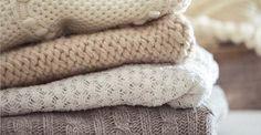 Hora de tirar suas blusas de lã do armário! Você sabe como preservá-las lindas para que durem por muitos invernos?