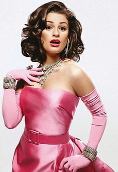 Lea Michele is playing Madonna's version of playing Marilyn Monroe. ..... oh lordy, just gets ridiculous!