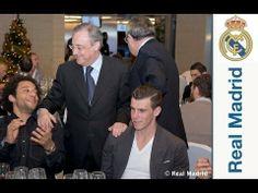 FOOTBALL -  Las primeras plantillas de fútbol y baloncesto del Real Madrid se reunieron en la comida de Navidad - http://lefootball.fr/las-primeras-plantillas-de-futbol-y-baloncesto-del-real-madrid-se-reunieron-en-la-comida-de-navidad/