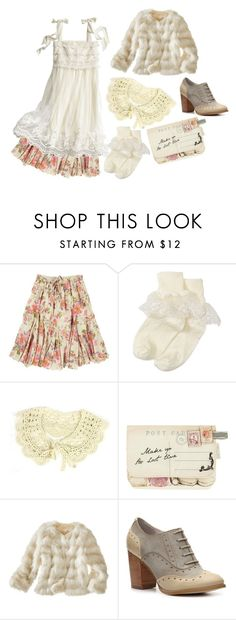"""""""Mori Girl"""" by roseunspindle ❤ liked on Polyvore featuring Joe Browns, H&M, Nordstrom, NamuDDalgi, Disaster Designs, Restricted, floral, lace, ruffles and MoriGirl"""