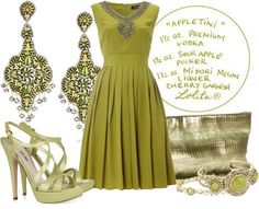 ShopStyle: Color of Fashion #136: Appletini & GARDE-ROBE: PLEATS, PLEASE! by madamelucy