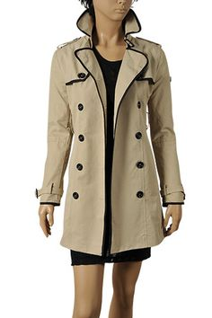 GUCCI Ladies Double-Breasted Trench Coat #130; $229.99  http://www.primerunway.com/GUCCI-Ladies-Double-Breasted-Trench-Coat-130?cPath