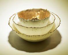Porcelain Meltdown Range with Gold - Rika Herbst